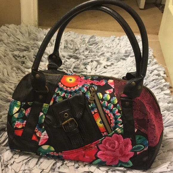 ebeecc7f8984 Desigual Handbags - 🛍💐Desigual bright colored handbag🛍💐🌸